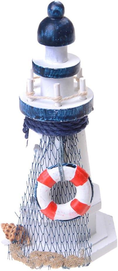 Candeliere Candelabro Faro Nautico Portacandele Mediterraneo Ornamenti Per Casa Oggettistica 14cm Seabirds