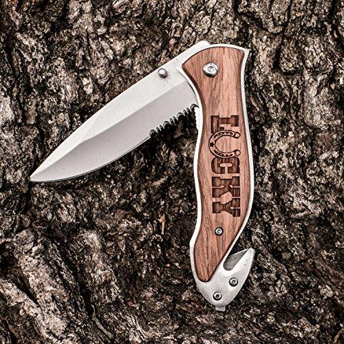 Knife - Lucky - Horseshoe 138