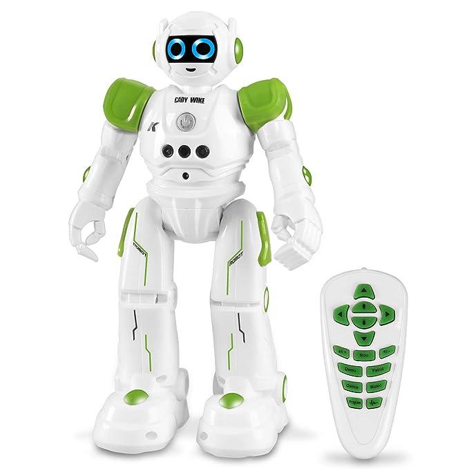Roboter Spielzeug für Kinder, intelligent Ferngesteuerter Roboter mit Fernbedienung und Gestensteuerung, Jungen und Mädchen,
