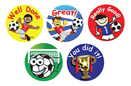 Sticker Solutions Football Themed Reward Stickers (Pack of 180 ...