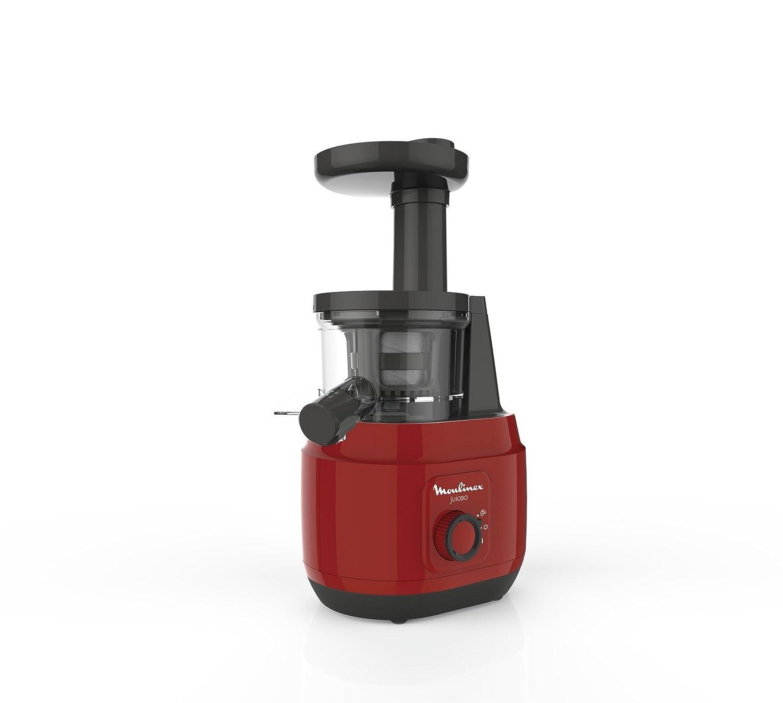 Moulinex Juice ZU150510 - Licuadora para frutas y verduras, control pulpa ajustable, prensado frío y fácil limpieza, panel manual, 2 filtros y boquilla ...
