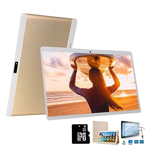 4G Tablets 10 Pulgadas 64GB, 3GB RAM Dual SIM/WiFi Android 8.1 8MP ...