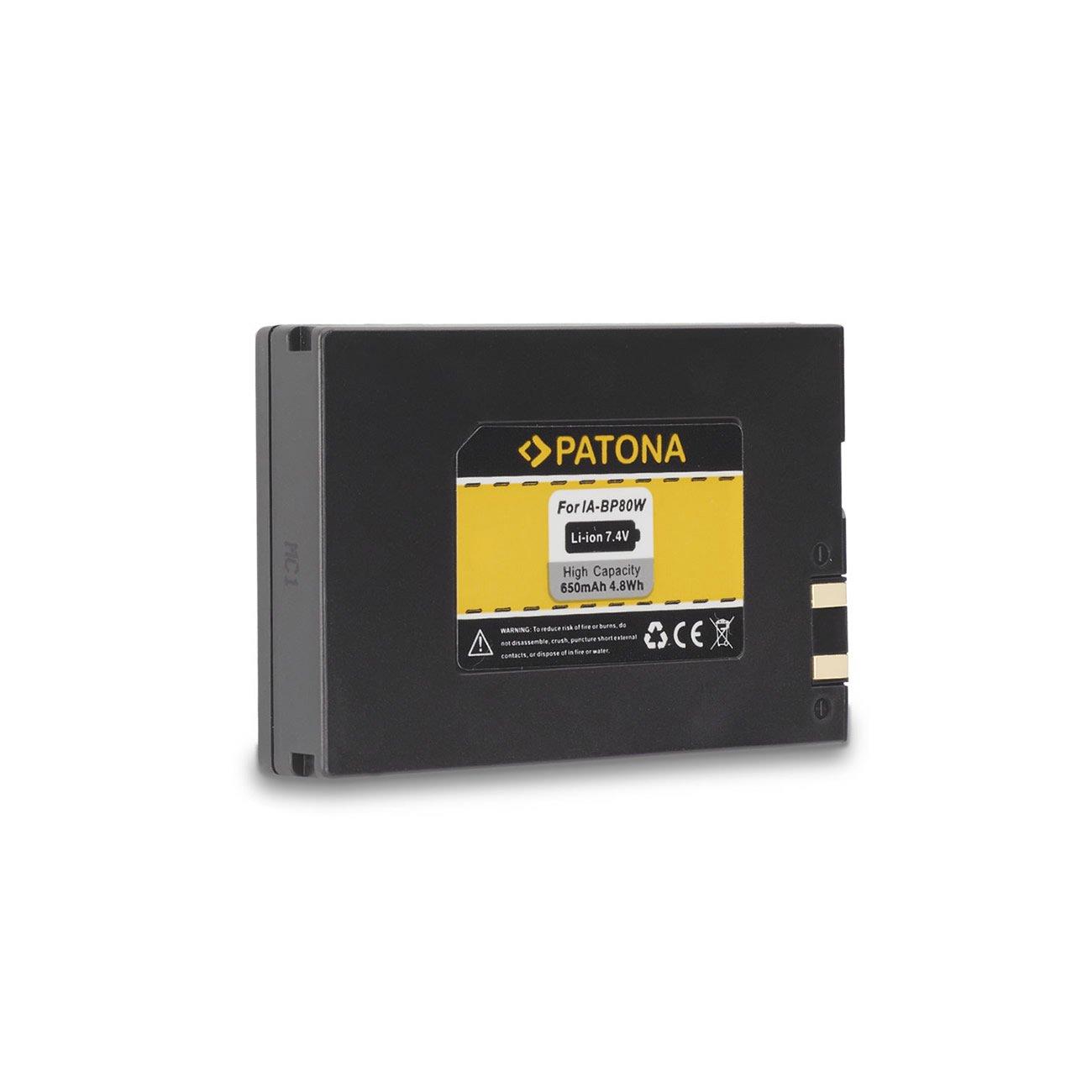 IA-BP80W Batteria PATONA per Samsung SC-D385