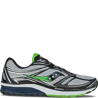 scarpe esclusive sconto online in vendita Saucony Guide 9, Scarpe da Corsa Uomo, Grigio (Grey/Navy/Slime ...