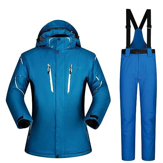 Chaqueta de esquí 3 en 1 para hombre Traje de esquí Traje de ...