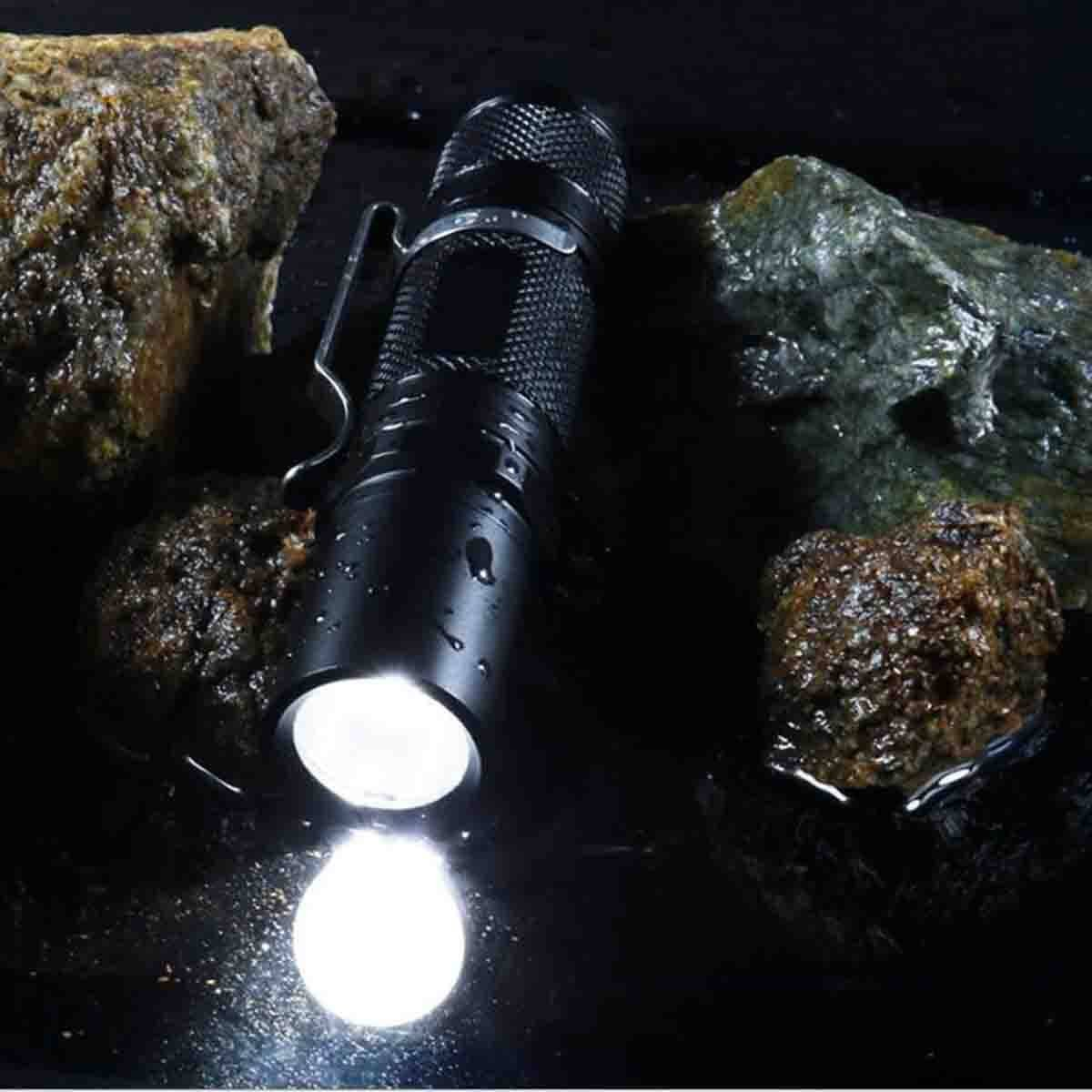 LIUTIAN Aire Linterna Mini Multifunción Al Aire LIUTIAN Libre LED Regalo 10.2  2.2cm 6a0505