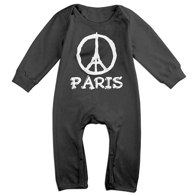 Amazon Com Mrei Leo Toddler Baby Boy Girl Organic Coverall Paris