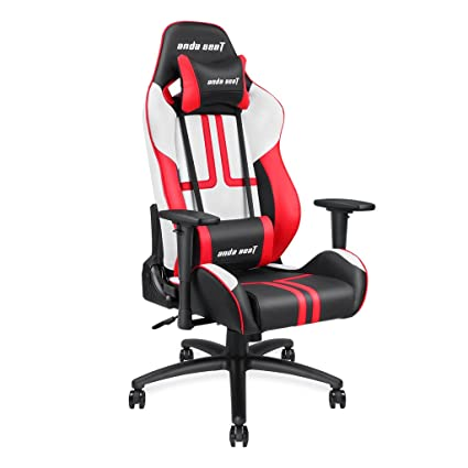 Amazoncom Anda Seat Viper Series Leather Gaming Chairlarge Size
