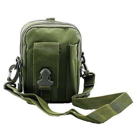 ZhaoCo Multi Purpose Poly Tool Holder, tattico Molle edc Sacchetto Utility Gadget Cintura Marsupio con Fondina Telefono Cellulare per Sport,