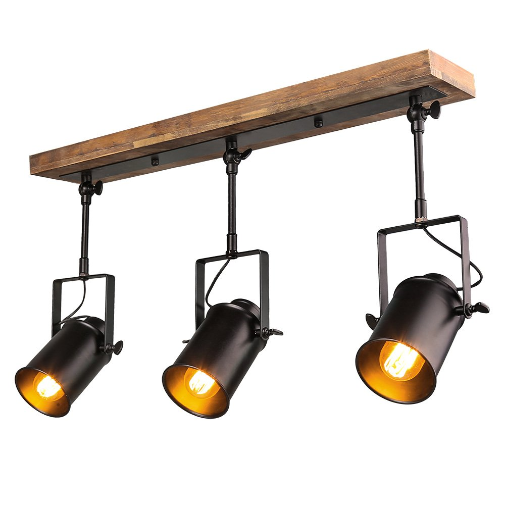 Track lighting amazon lighting ceiling fans ceiling lights lnc wood close to ceiling track lighting spotlights 3 light track lights arubaitofo Gallery