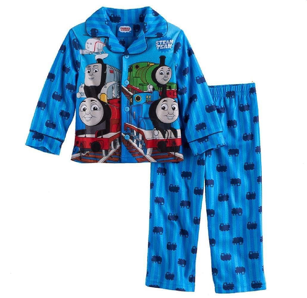 2T Blue Toddler Boy Thomas The Train 2-pc Pajama Set