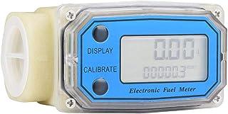 Misuratore di portata Mini turbina digitale Misuratore di portata gasolio 15-120L / min 1'NPT, Misuratore di portata a turbina per misure Diesel, urea, cherosene, benzina