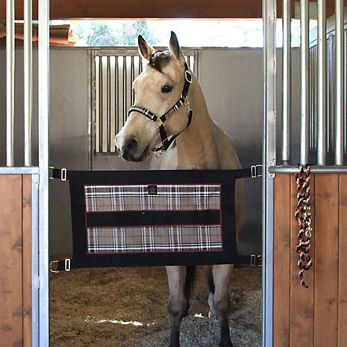Kensington Stall Guard for Horses - Designed to Keep Horse Securely in Stall in Style -  Adjustable Straps and Hardware Included by Kensington Protective Products