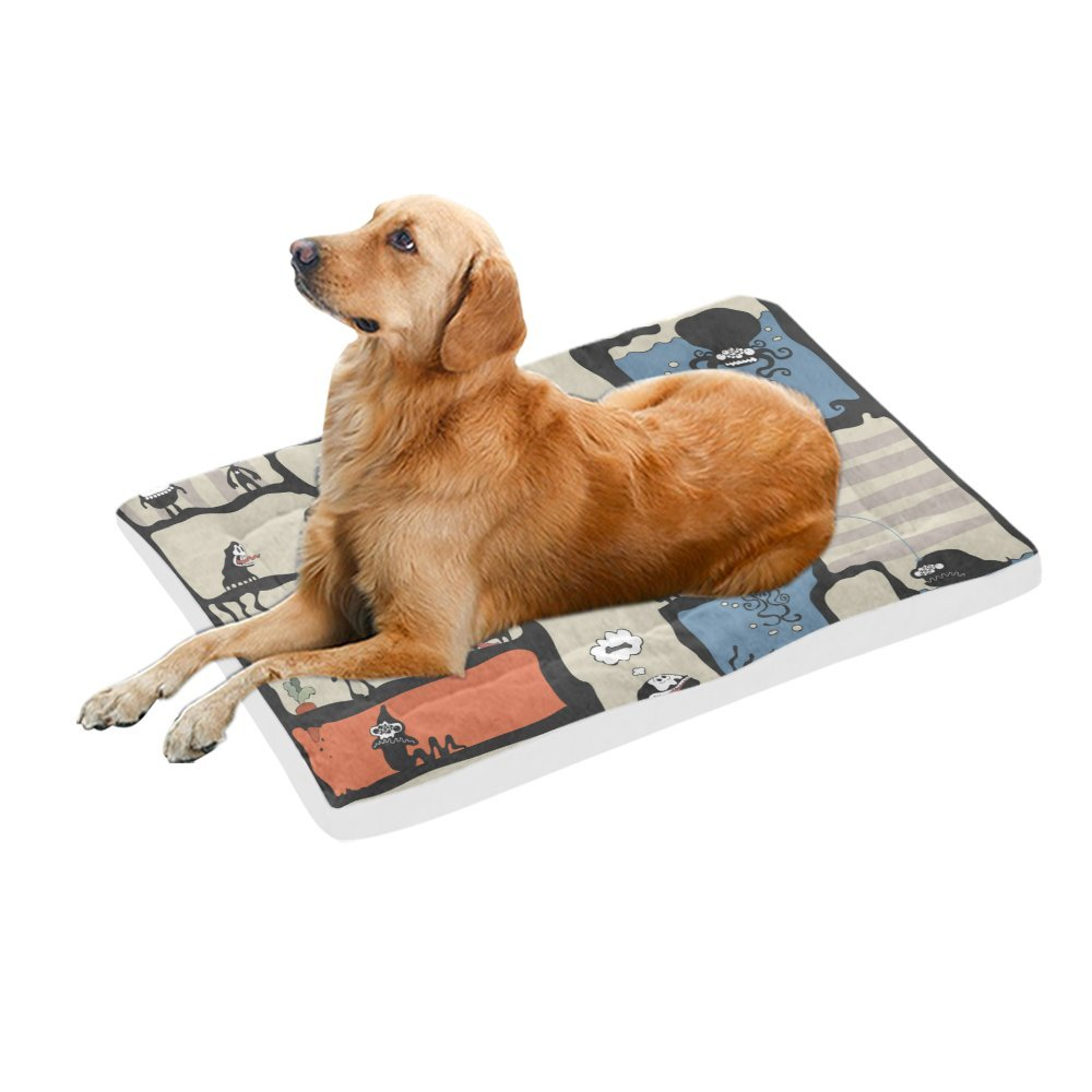 42\ your-fantasia Funny Labyrinth Pet Bed Dog Bed Pet Pad 42 x 26 inches