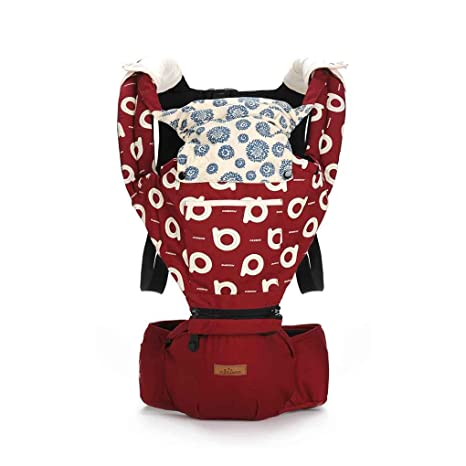 Focus Aiebao A6609 - Mochila multifuncional para llevar al bebé durante las cuatro estaciones, color