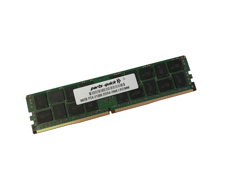 64GB (1x64GB) メモリー HP ProLiant XL190r Gen10 (G10) DDR4-2666 CAS-19-19 負荷軽減 DIMM RAM (PARTS-QUICKブランド) B07K3TFJM5