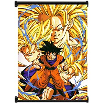Dragon Ball Z Anime Super Saiyan Goku Fabric Wall Scroll Poster (16x21) Inches. [WP]DragonBallZ-2