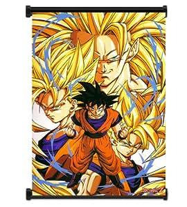 Dragon Ball Z Anime cartel de tela de la pared (81,28 cm x