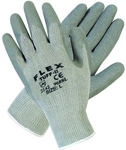 Flex Tuff-II Latex Coated Gloves Size Group: Large, Price for 1 DOZ, 12PR/DOZ (part# (Flex Tuff Gloves)
