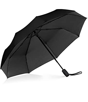 4e3ed75bf1f3 Windproof Umbrella , Gyvazla Portable Compact Travel Umbrella Compact  Automatic Open Close Small Folding Teflon Repellent Canopy Umbrellas fit  Golf ...