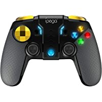 TOONEV Bluetooth Mobile Phone Game Controller for iOS Compatible with iPhone/iPod/Ipad/Mac/Apple TV Without Activation and APP Needed (Black)