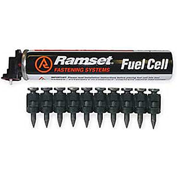 ITW Ramset Red Head T3012 1//2 Steel pin with T3 Fuel Cell