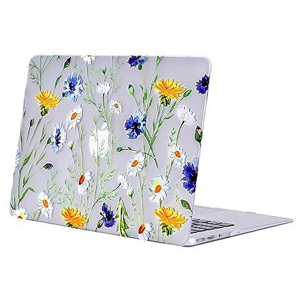 MOSISO Funda Dura Compatible con MacBook Air 13 Pulgadas (A1369 / A1466, Versión 2010-2017), Ultra Delgado Carcasa Rígida Protector de Patrón de ...