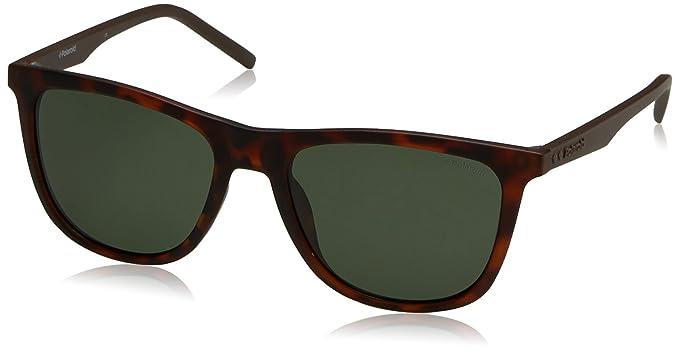Polaroid PLD 2049/S UC N9P 55 gafas de sol, Marrón (Matt Havana/Green Pz), Hombre