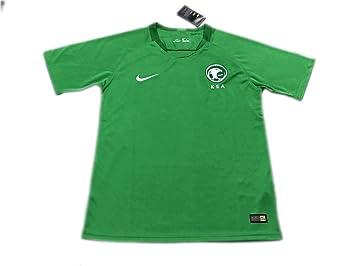 online store 57d3f 9061f TI Soccer jersey Saudi Arabia Away Green 2018 World Cup ...