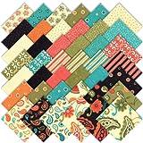 """Moda Sassy Charm Pack 5"""" Quilt Squares 17640PP"""