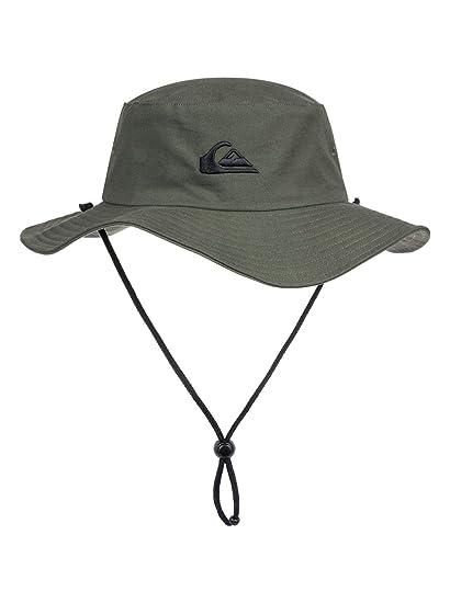 3d5008708affa Quiksilver Men s Bushmaster M Hats Kvj0 Flat Cap  Quiksilver  Amazon ...