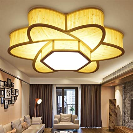 Elegant CWJ Simple Modern Lights   European Style Chandeliers Living Room Ceiling  Lights Led Chinese Square Wood