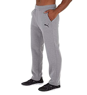 ba5f6c3c5abb3 PUMA Men's Essential Logo Fleece Pants at Amazon Men's Clothing store
