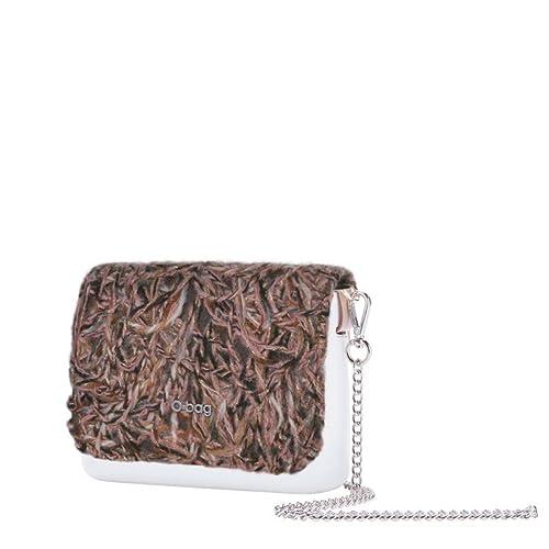 più recente 1b264 45beb OBAG O pocket con pattina lana e tracolla catena lunga ...