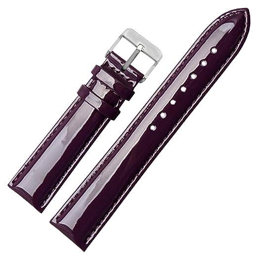 e316612e3d71 14mm Premium Correas de Cuero Genuino de la Banda de Reloj de reemplazo de Cuero  Correa de Reloj de Pulsera para Hombres