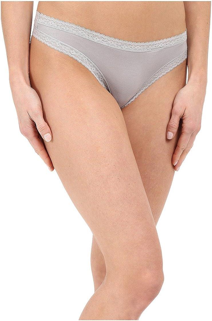 Yummie Womens Nash Micro Modal Comfort Lace Thong