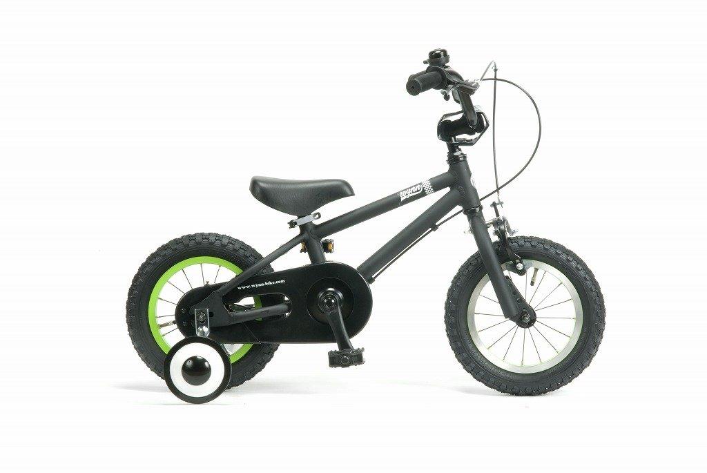 【湘南鵠沼海岸発信】12インチBMX 《RAINBOW Wynn12 12inch》 子供用自転車 12インチ B01MRQB3GUブラック×ブラック