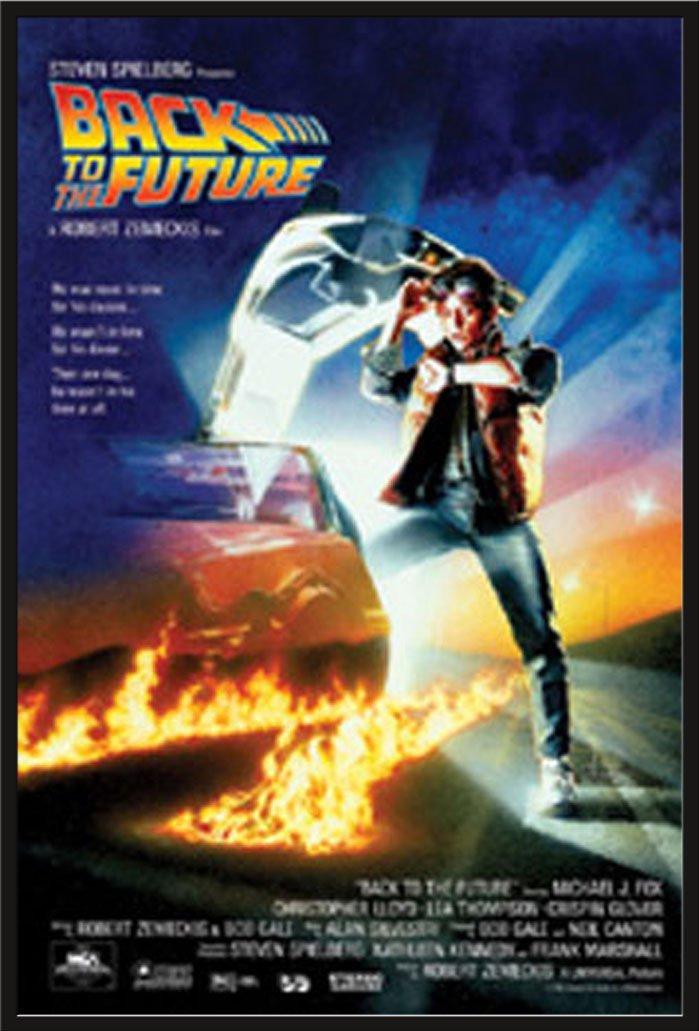 Back To The Future Michael J. Fox Christoph Filmposter Zurück in die ...