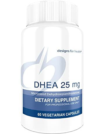 Designs for Health - DHEA - 25mg, Balance + Energy Support for Men and Women