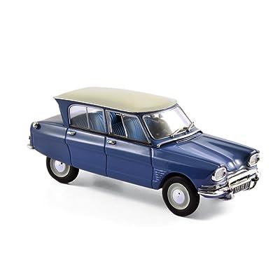 Norev 153505 - Citroën Ami 6 - 1967 - Échelle 1/43 - Bleu Brouillard