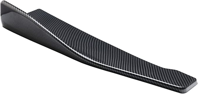 """Pair 15/"""" Rear Bumper Carbon Effect Apron Fin Splitter Diffuser Valence For Chevy"""
