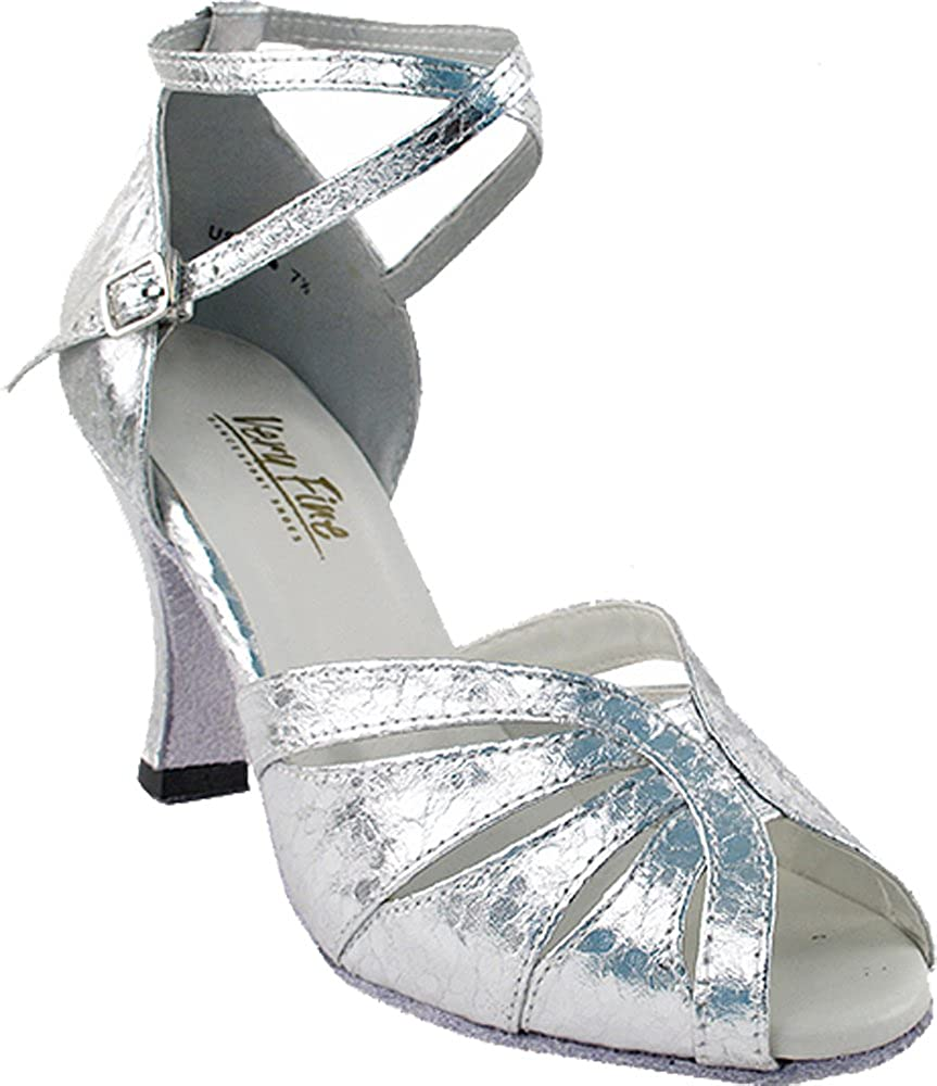 [Very Fine Dance Shoes] レディース B0094RCGAC Ultra Silver 8.5 B(M) US