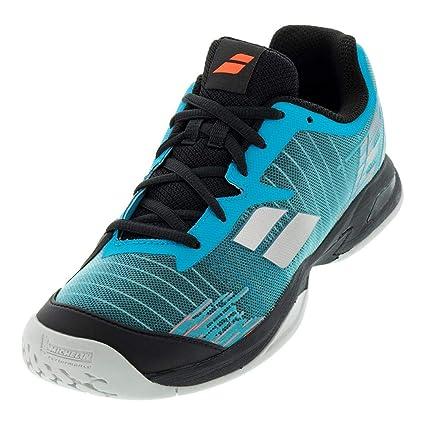 2c9012f888fea6 Amazon.com: Babolat Jet All Court Junior Tennis Shoes: Sports & Outdoors