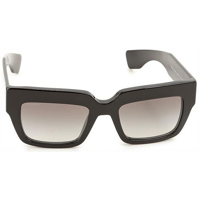 79e829787184 PRADA SPR28p Square Sunglasses Black Popular Celebrity  Amazon.ca  Clothing    Accessories