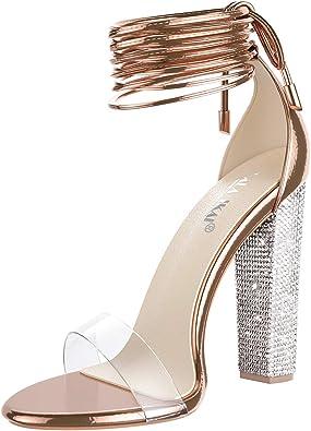 High Heels In Gold