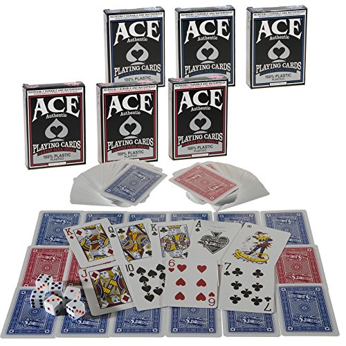 Ace 100% Plastic Playing Cards _ Bundle