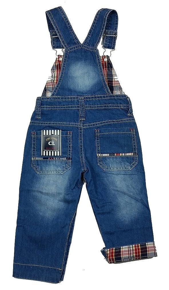 Chilong Tolle Jeans Latzhose J1333e