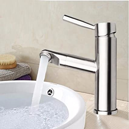 Restroom Fixtures Dayanand Sink Faucet Antique Brass Nickel Brushed Cold Water Bathroom Basin Mixer Touch On Faucets