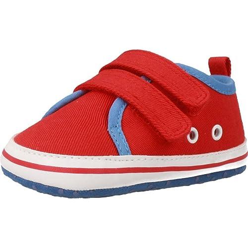 Zapatillas para niño, Color Rojo, Marca CHICCO, Modelo Zapatillas para Niño CHICCO NERIK Rojo: Amazon.es: Zapatos y complementos