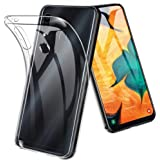 Samsung Galaxy A30 TPU Silicone Soft Thin Slim Back Case Protective Clear Cover For Galaxy A30